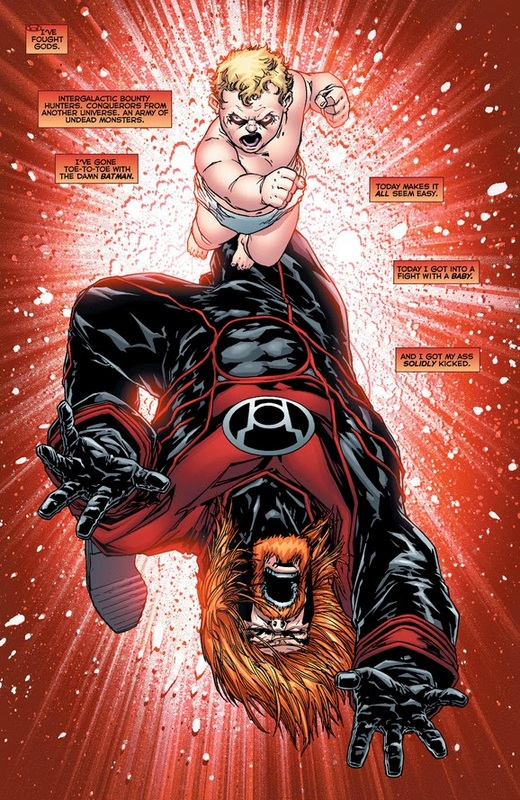 comics red lanterns the brightest day